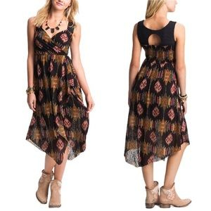Free People All Wrapped Up Ikat Dress